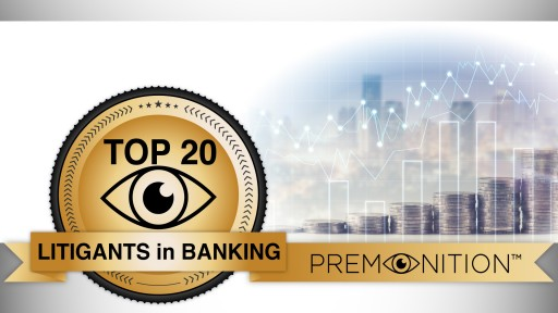 Discover Tops the List of America's Most Sued Banks 2016-2017 According to Premonition Analytics
