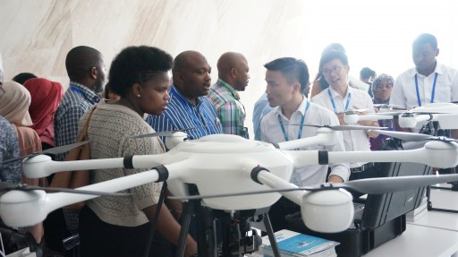 Delegation of Zanzibar and Lesotho Officers Visited JTT Technology for Drone Technology Exchange