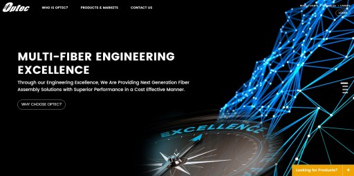 Optec Announces New Website Launch