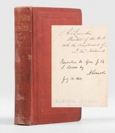 Military Bridges by Herman Haupt - Inscribed by President Lincoln