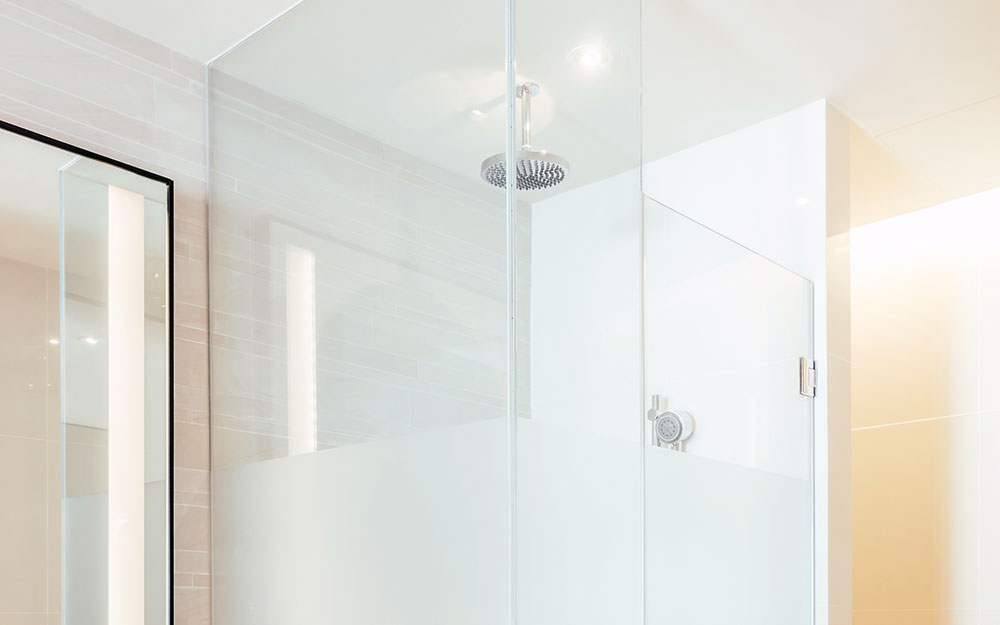 New shower systems at polaris home design newswire Modern bathroom north hollywood