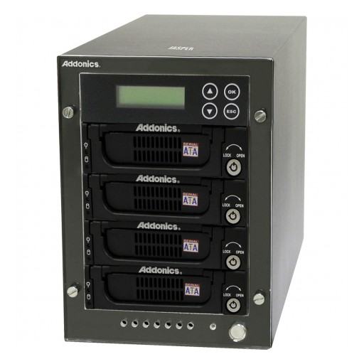 Addonics Announces a Family of High Performance and Expandable Hard Drive and SSD Duplicators