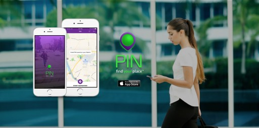 Getting From Point A to Point B Just Got Easier! PIN Is Now Available in the App Store.
