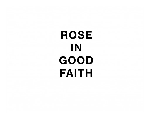ROSE IN GOOD FAITH Launches JNCO Collaboration