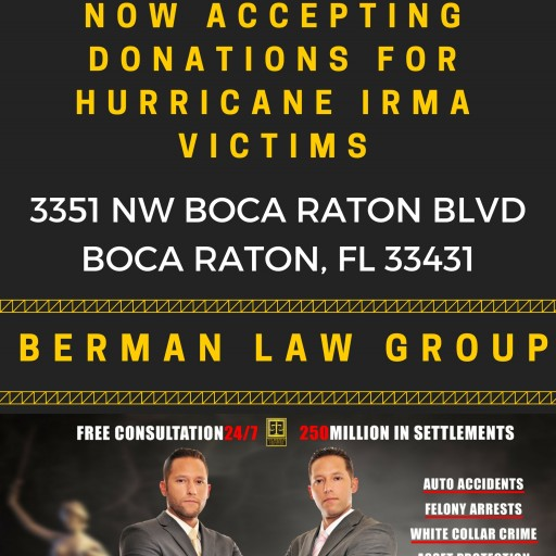 Hurricane Irma Relief Spearheaded by the Berman Law Group
