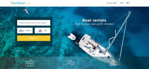 A Captain is Announced in the 'Airbnb for Boats' Race, SamBoat Goes Global