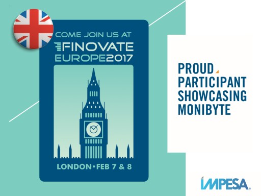 FinTech Innovator IMPESA Chosen to Demo at FinovateEurope 2017