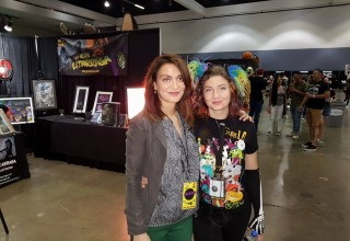 Attorney Nadia Davari and Lora Ivanova, Founder of ScareLA