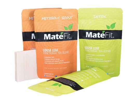 28 days teatox ultimate for weight loss Mate Fit Tea
