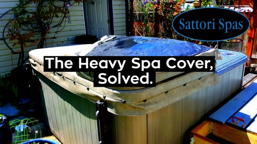 The UnderCover, the Solution to the Heavy Hot Tub Cover, Now Available for Sale
