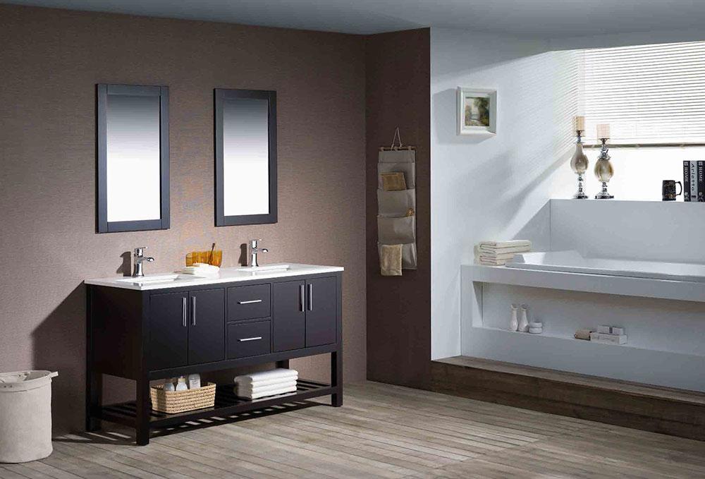 Fresh modern bathroom vanities at polaris home design newswire Modern bathroom north hollywood