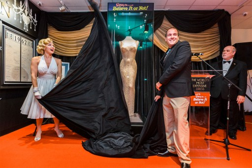 World's Most Expensive Dress Comes to Ripley's Believe It or Not! in San Francisco