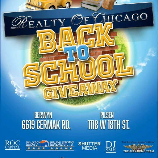 Realty of Chicago to Give Away 1,000 School Supplies at Back-to-School Event