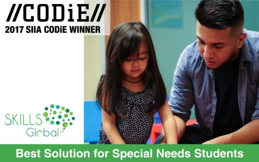 SKILLS Global Recognized by SIIA as Best Solution for Special Needs Students