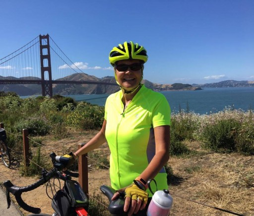 Grandma With Diabetes for 40 Years Left San Francisco Today Riding Her Bicycle to New York City