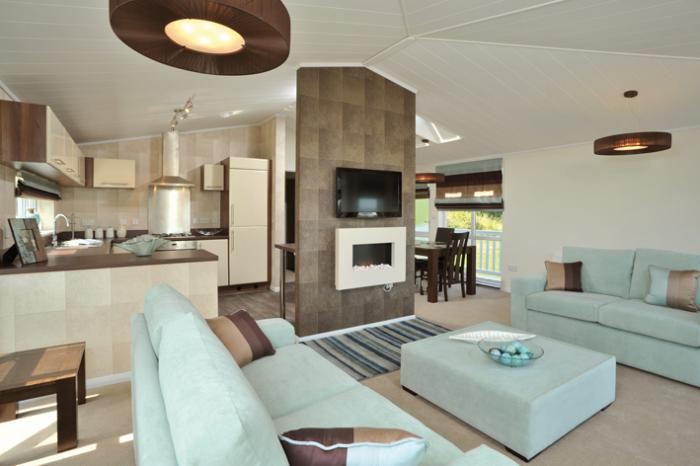 Omar Homes Exhibit Their Brand New Park Home Apex Lodge At The