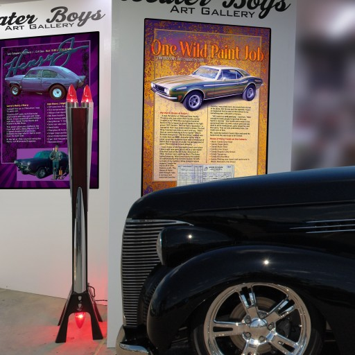Hot Rods and Art Come Together at Gopher State Timing Association's Hot Rod and Custom Car Show