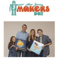 The Hudicka Family at NJ Makers Day
