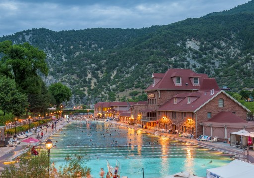 Glenwood Hot Springs, Glenwood Springs