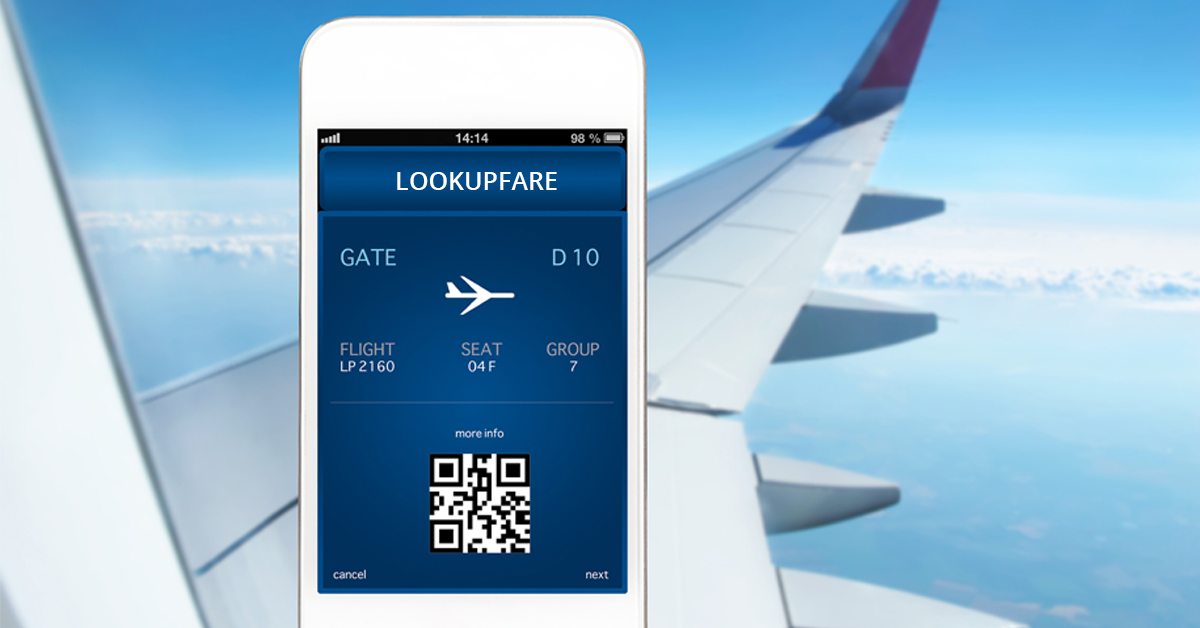 Lookupfare is tagged to be the best online flight booking for Site for cheapest flights