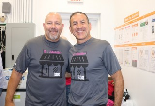 CEO Saber Ammoni and T-Mobile Partner Mark Rolsasky