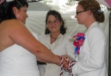 lesbian wedding location, lgbtq friendly wedding officiant, Rev Pamela Magnuson Pine Manor