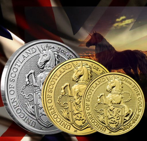 New Queen's Beasts Series Edition Release: The Unicorn of Scotland