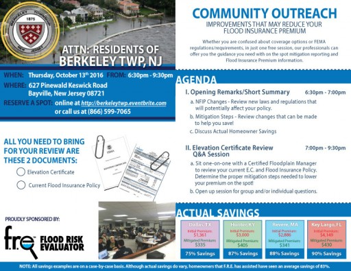 Community Outreach Scheduled for the Residents of Berkeley Township, NJ