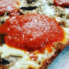 Low Carb Detroit Style Pizza