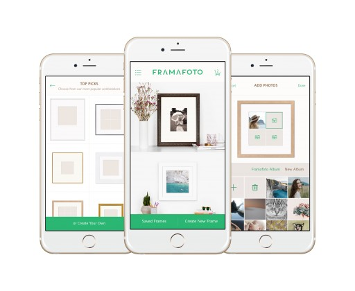 Introducing Framafoto, the Intuitive Mobile App for Creative Custom Framing