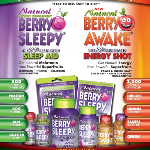 Berry Sleepy and Berry Awake Rolling Out in Major Accounts Nationally