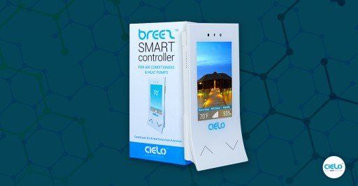 Control Your Any Brand Ductless Air Conditioner From Anywhere...Meet Cielo Breez