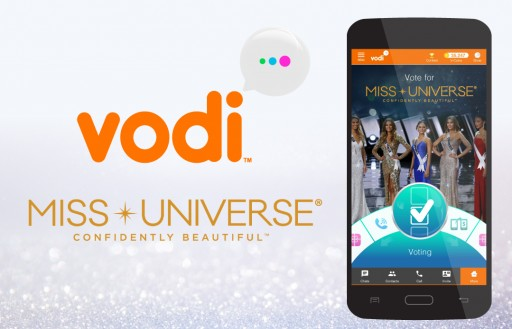 Vodi Announced as Official Global Fan Vote Sponsor of the MISS UNIVERSE® Competition