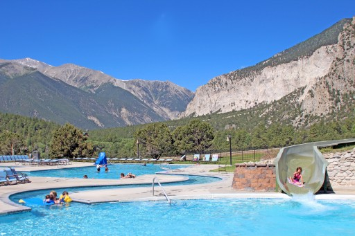 Mount Princeton Hot Springs Resort - family pool, Nathrop