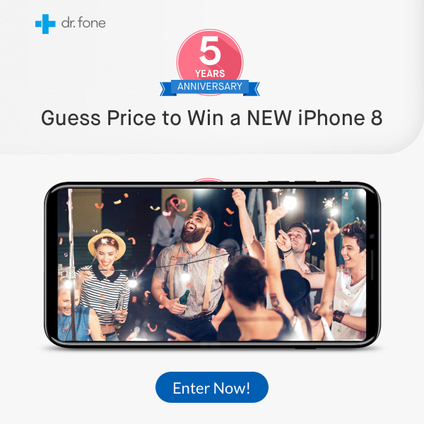 iphone 8 giveaway dr fone 5 year anniversary giveaway guess iphone 8 2488