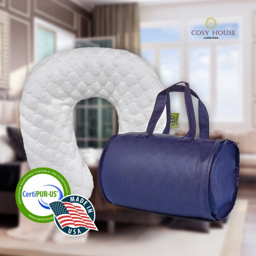 Cosy House Collection Launches the Best Quality Memory Foam Travel Pillow on Amazon