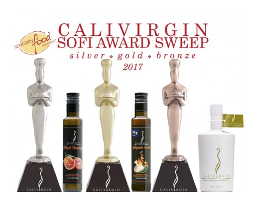 Calivirgin Olive Oil Sweeps Specialty Foods Association SOFI Olive Oil Category