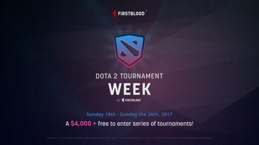 Firstblood, the World's First Blockchain-Powered Esports Company is Holding Free-to-Enter Dota 2 Tournament Series