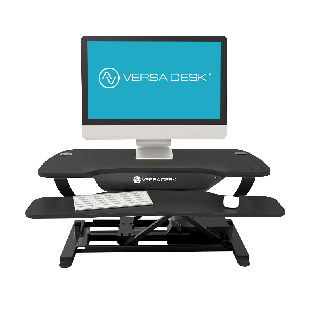 Versadesk Electric Push Button Adjustable Height Desk