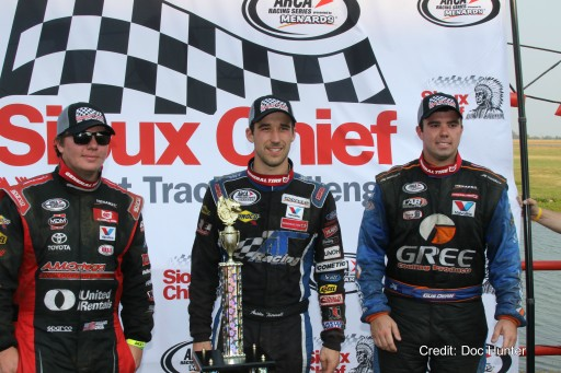 Creed Survives Wild Finish at DuQuoin's Magic Mile to Finish Second