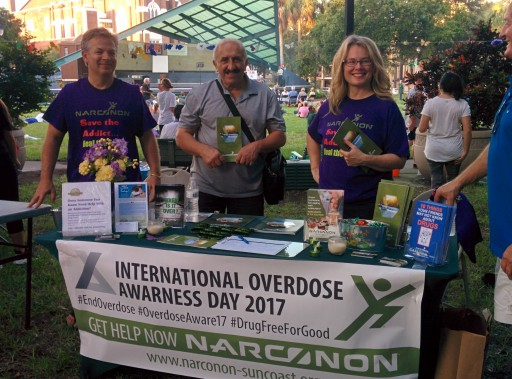 Narconon Suncoast Rallies Support for Overdose Awareness