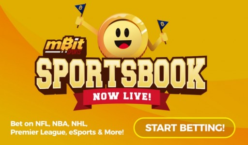 The MBit Sportsbook is Now Live!