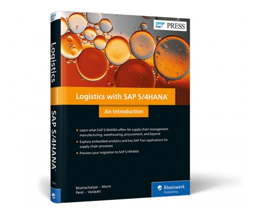 SAP PRESS Publishes First Book on Logistics With SAP S/4HANA