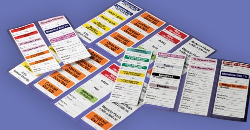 Centurion's sterile labels help you comply with the Joint Commission's goal of improving the safety of using medications