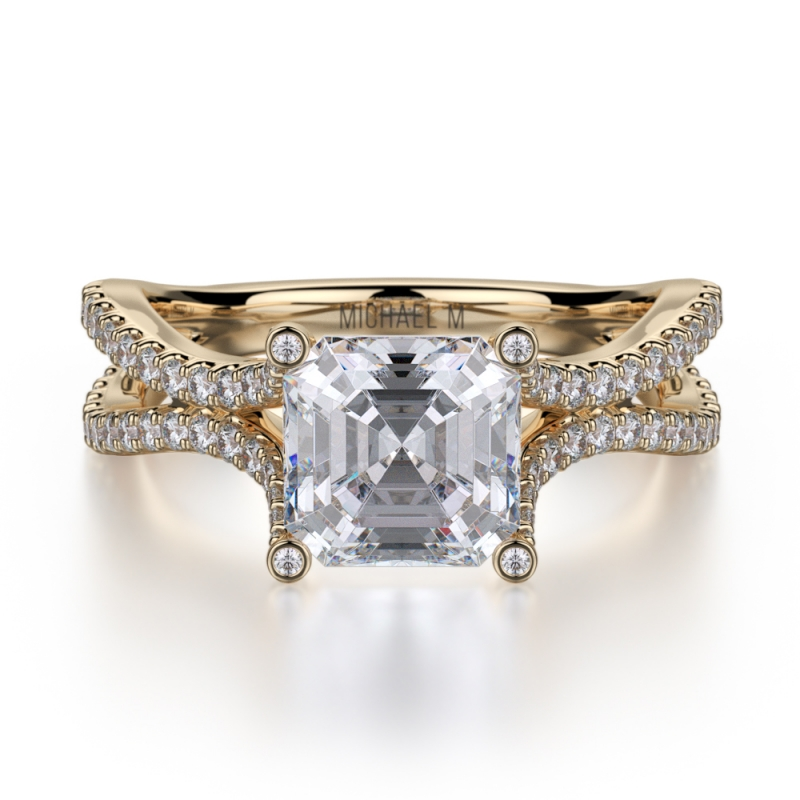 Michael m announces launch of two new engagement ring for Michael m collection