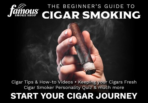 Famous Smoke Shop Launches 'Beginner's Guide to Cigar Smoking'