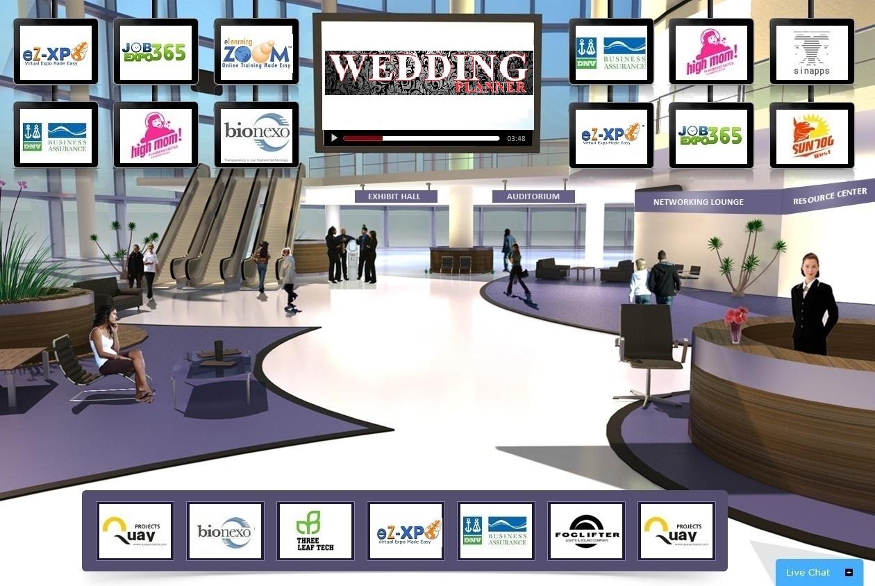 ez xpo announces the worlds 1st virtual collaborative wedding