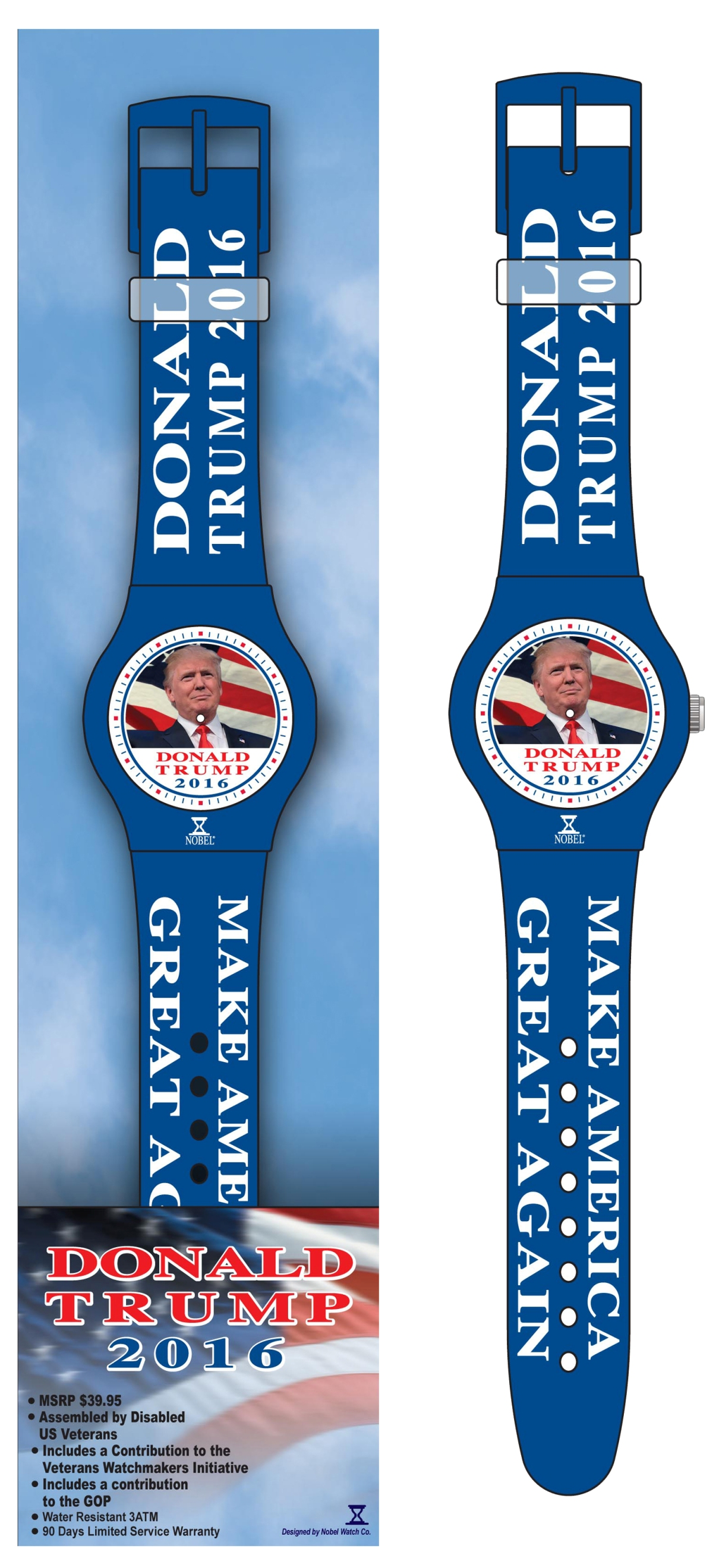 Nobel watch company makes Republican timepieces - watchpro.com