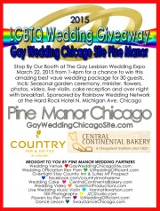 Same-sex wedding giveaway, wedding expo LGBTQ