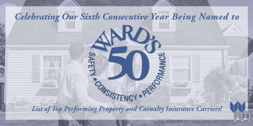 Western Mutual Insurance Group Named to Ward's 50 for Sixth Straight Year